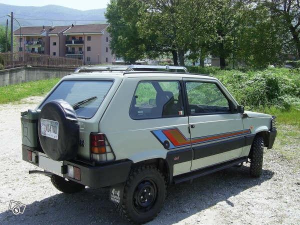 Ruota di scorta stile jeepone fiat panda club for Panda 4x4 sisley off road